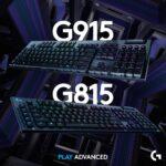 Logitech-Tastiere G915-G815